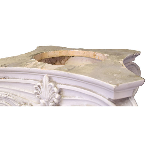 #29989 Plaster Ionic Column Capital image 2