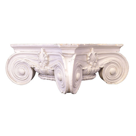 #29989 Plaster Ionic Column Capital image 3