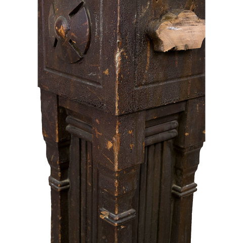 #30224 Salvaged Staircase Newel Post image 5