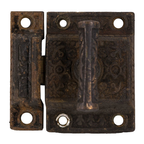 #30346 Ornate Antique Transom Latch image 1