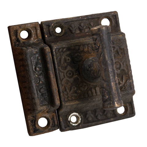 #30346 Ornate Antique Transom Latch image 3