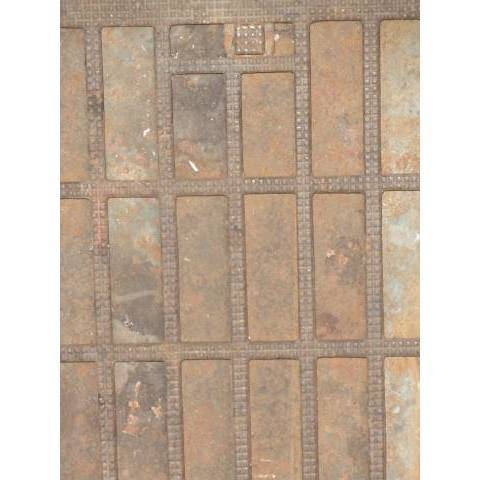 #3151 10x12 Cast Iron Heat Grate image 2