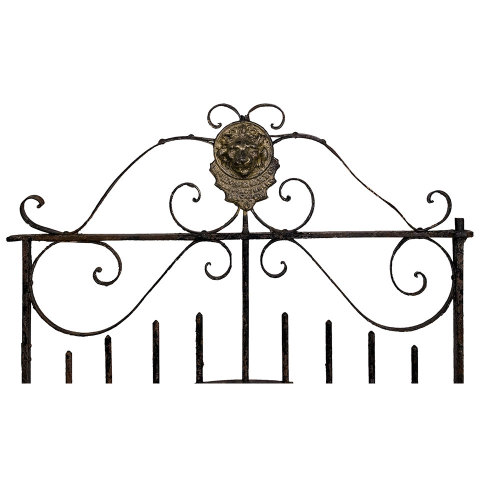 #32367 Wrought Iron Garden Gate image 2