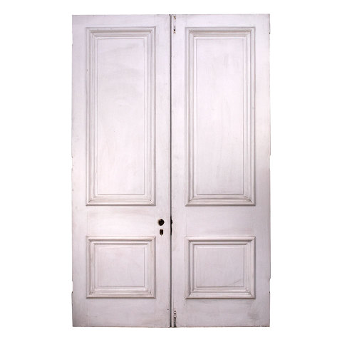 #33803 Salvaged Victorian Entry Doors image 5