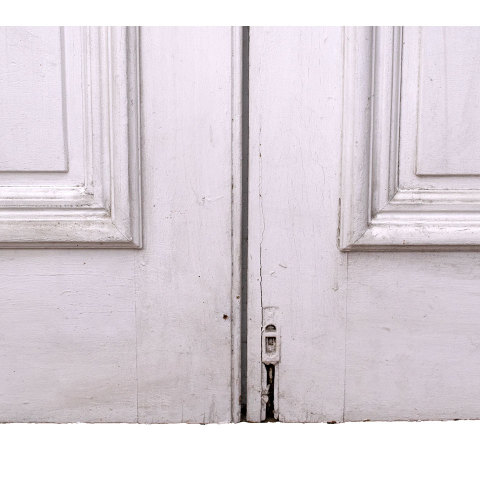 #33803 Salvaged Victorian Entry Doors image 8