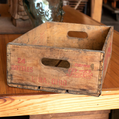 #34030 Antique PEPSI Bottle Crate image 2