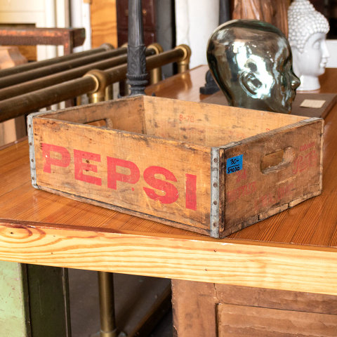 #34030 Antique PEPSI Bottle Crate image 3
