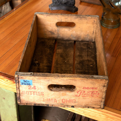 #34030 Antique PEPSI Bottle Crate image 4
