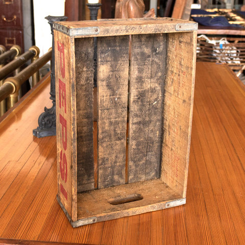 #34030 Antique PEPSI Bottle Crate image 5