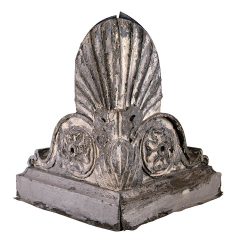 #35111 Antique Zinc Roof Ornament image 1
