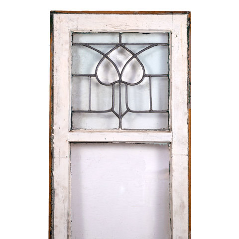 #35663 Salvaged Leaded Glass Window image 2