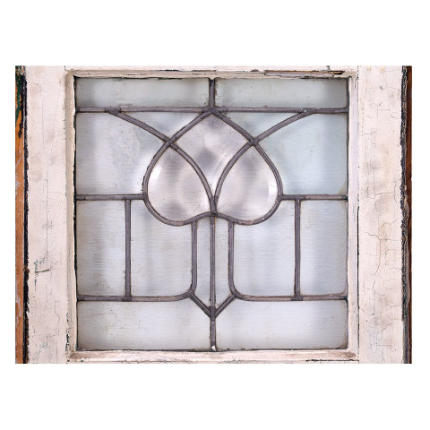 #35663 Salvaged Leaded Glass Window image 5