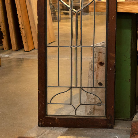 #36498 Leaded Glass Cabinet Door image 3