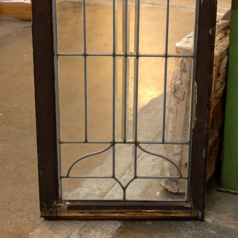 #36498 Leaded Glass Cabinet Door image 5