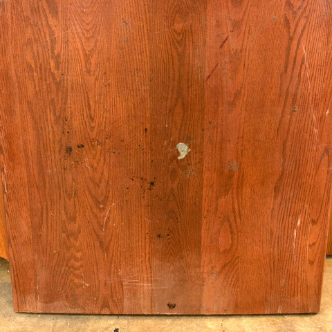 #36525 Salvaged Oak Table Top image 3