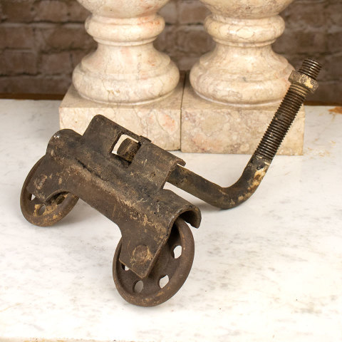 #36593 Antique Cast Iron Trolley image 1