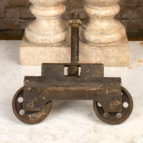 #36593 Antique Cast Iron Trolley image 2