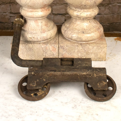 #36593 Antique Cast Iron Trolley image 3