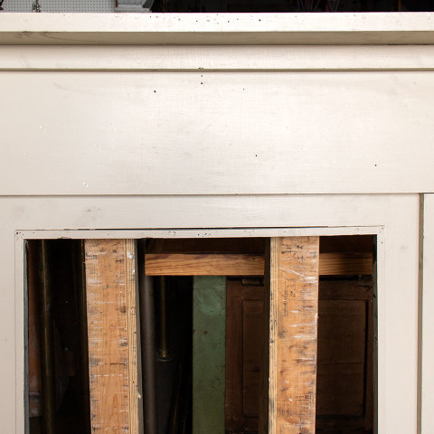 #37575 Salvaged Wood Fireplace Mantel image 6