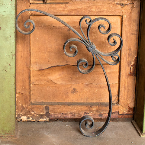 #37681 Wrought Iron Architectural Bracket image 1