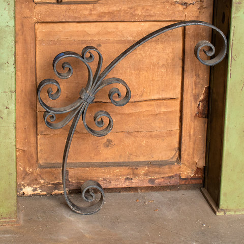 #37681 Wrought Iron Architectural Bracket image 2