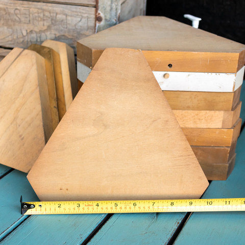 #37891 Lot of Wood Bases image 5
