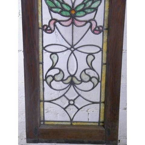 #3872 Leaded & Stained Glass Window image 2