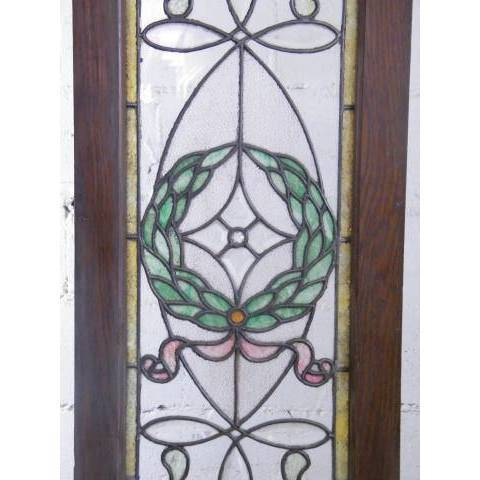 #3872 Leaded & Stained Glass Window image 3