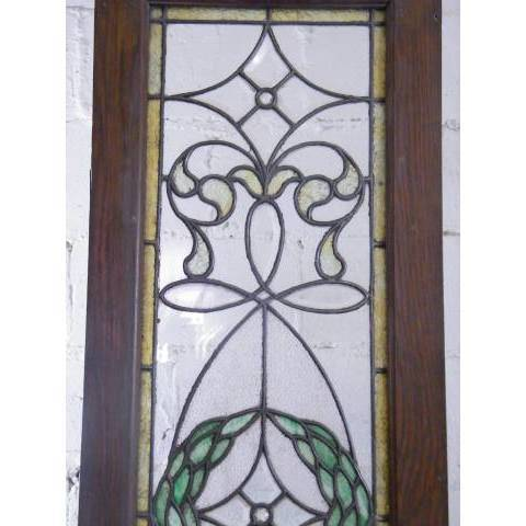 #3872 Leaded & Stained Glass Window image 4