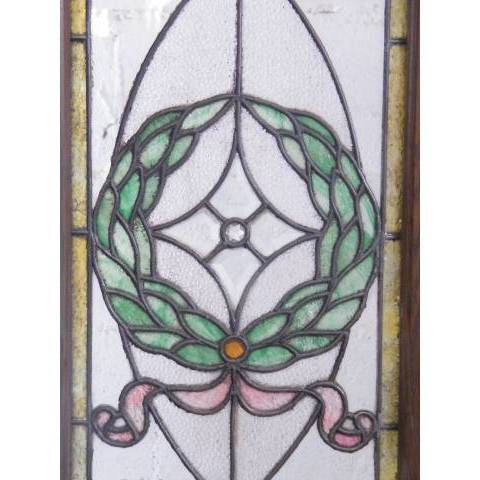 #3872 Leaded & Stained Glass Window image 5