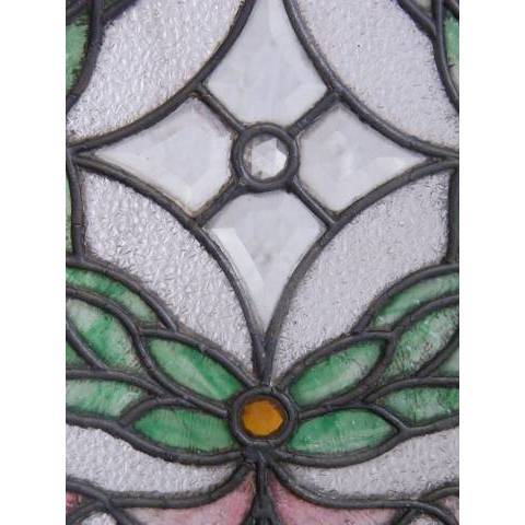#3872 Leaded & Stained Glass Window image 6