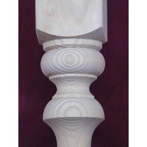 #4256 Turned Pine Stair Baluster image 3