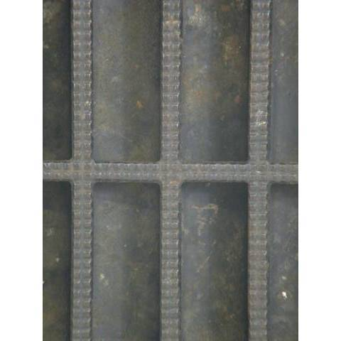 #5330 10x12 Cast Iron Heat Grate image 4