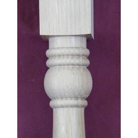#5813 Turned Oak Stair Baluster image 3