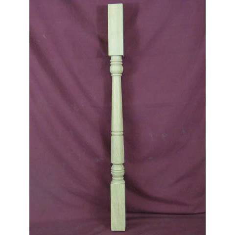 #5813 Turned Oak Stair Baluster image 1