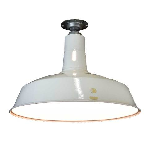 #6476 Salvaged Industrial Light Fixture image 3