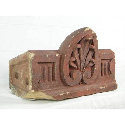 #7108 Terra Cotta Architectural Ornament image 1