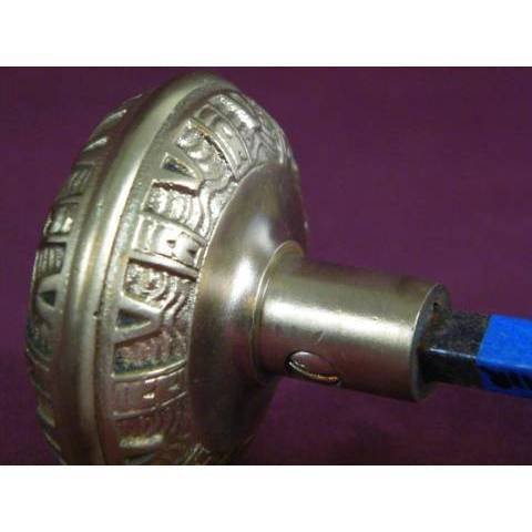 #9147 Pair of Antique Mallory Wheeler Doorknobs image 3