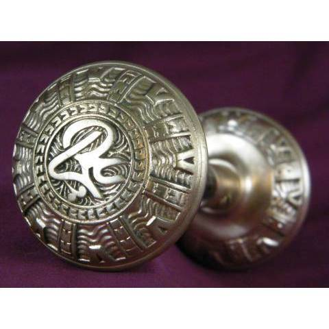 #9147 Pair of Antique Mallory Wheeler Doorknobs image 1